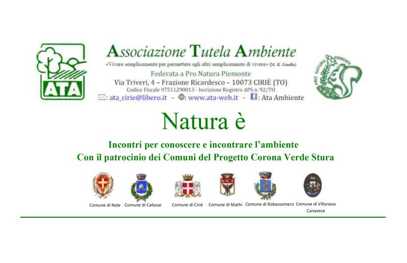 Natura E' – Insieme ad ATA per conoscere l'ambiente