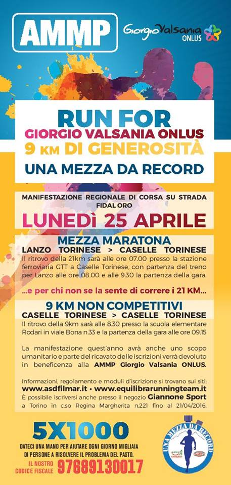 mezza record beneficienza